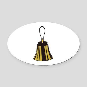 Handbell Oval Car Magnet