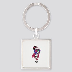 Bagpiper Keychains