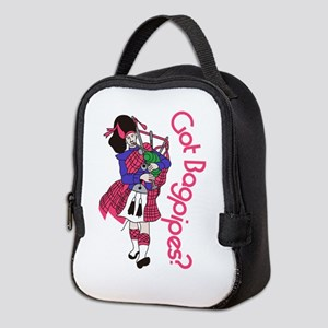 Got Bagpipes? Neoprene Lunch Bag