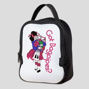 Got Bagpipes? Neoprene Lunch Bag