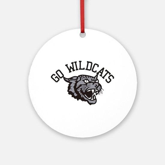 GO WILDCATS Ornament (Round)
