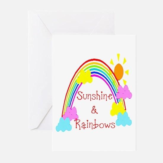 Sunshine Rainbows Greeting Cards (Pk of 10)