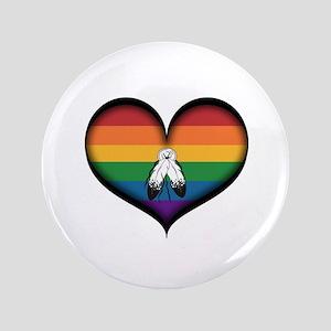 Two-Spirit Heart Button