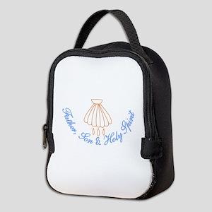 Father, Son & Holy Spirit Neoprene Lunch Bag