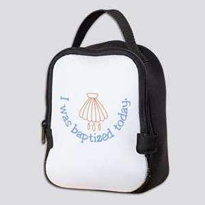 I was Baptized Today Neoprene Lunch Bag