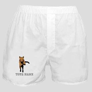 Cougar (Custom) Boxer Shorts