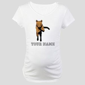 Cougar (Custom) Maternity T-Shirt