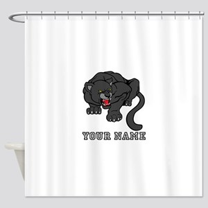 Black Panther (Custom) Shower Curtain