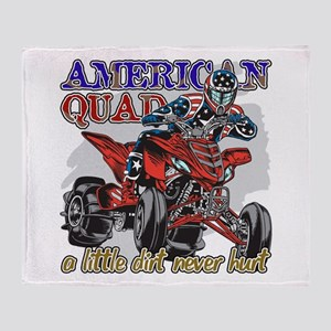 American Quad Throw Blanket