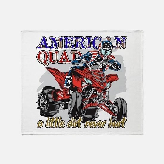 American Quad Throw Blanket