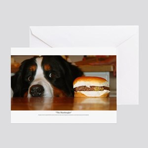 """The Hamburgler"" Greeting Card"