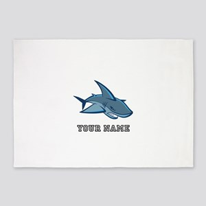 Bull Shark (Custom) 5'x7'Area Rug