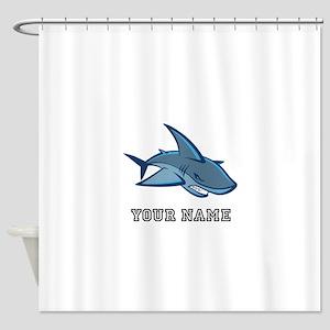 Bull Shark (Custom) Shower Curtain
