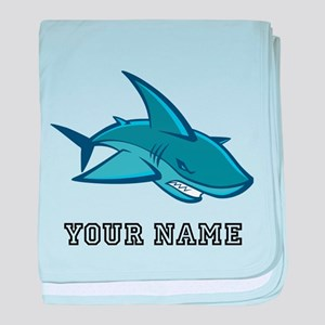 Bull Shark (Custom) baby blanket