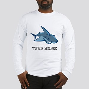 Bull Shark (Custom) Long Sleeve T-Shirt