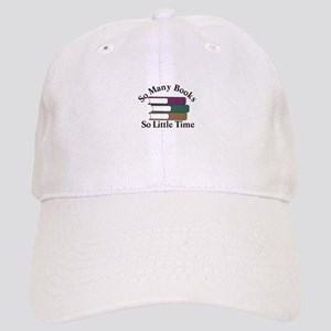 So Many Books Baseball Cap