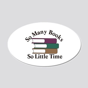 So Many Books Wall Decal