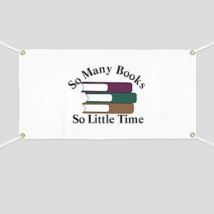 So Many Books Banner