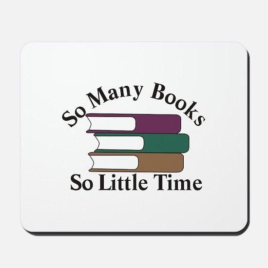 So Many Books Mousepad