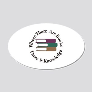 Where There are Books Wall Decal