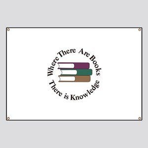 Where There are Books Banner