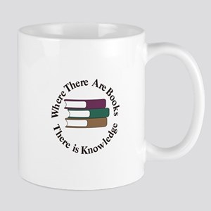 Where There are Books Mugs