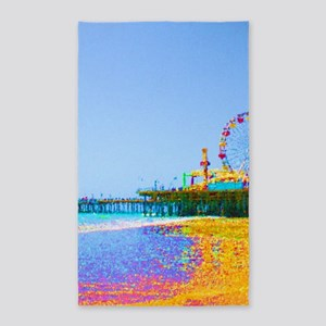 Funky Pixels Pier Area Rug