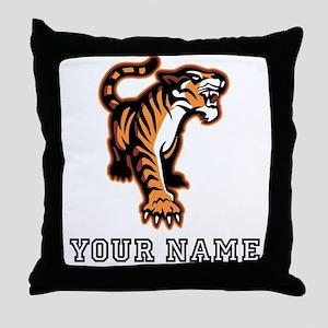 Bengal Tiger (Custom) Throw Pillow