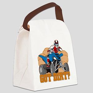 Got Dirt ATV Canvas Lunch Bag
