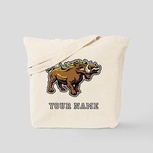Wild Boar (Custom) Tote Bag