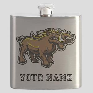 Wild Boar (Custom) Flask