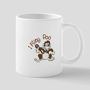 I Fling Poo Mugs