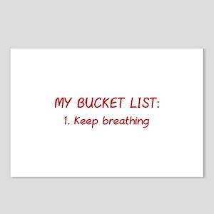 My Bucket List Postcards (Package of 8)