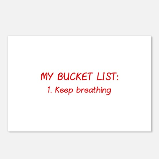 My Bucket List Postcards (Package of 8)