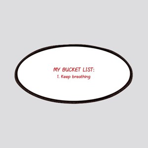 My Bucket List Patches
