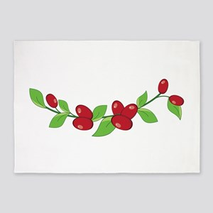 Cranberries 5'x7'Area Rug