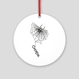Spider Ornament (Round)