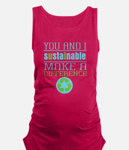 You and I Sustainability Maternity Tank Top