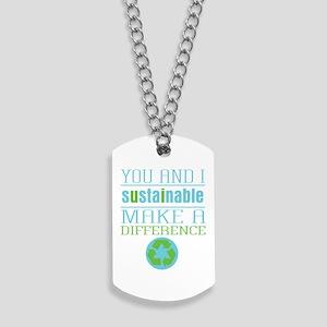 You and I Sustainability Dog Tags