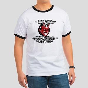 Lord Satan Commands It T-Shirt
