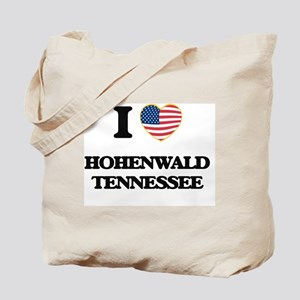 I love Hohenwald Tennessee Tote Bag