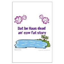 Haas dead an cow fat story Posters