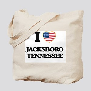 I love Jacksboro Tennessee Tote Bag