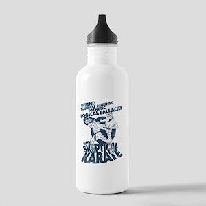 Skeptical Karate! Hiya! Water Bottle