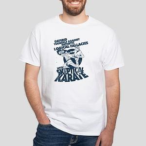 Skeptical Karate! Hiya! T-Shirt