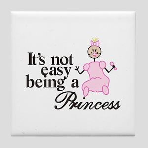 Being a Princess Tile Coaster