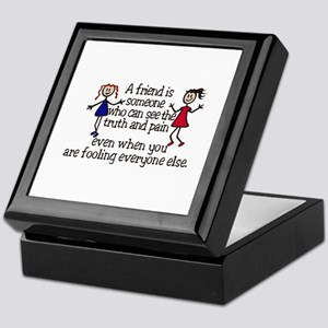 A Friend Is Keepsake Box