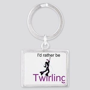 Rather Be Twirling Keychains