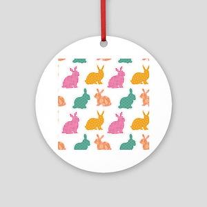 bunny Ornament (Round)