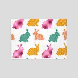 bunny 5'x7'Area Rug